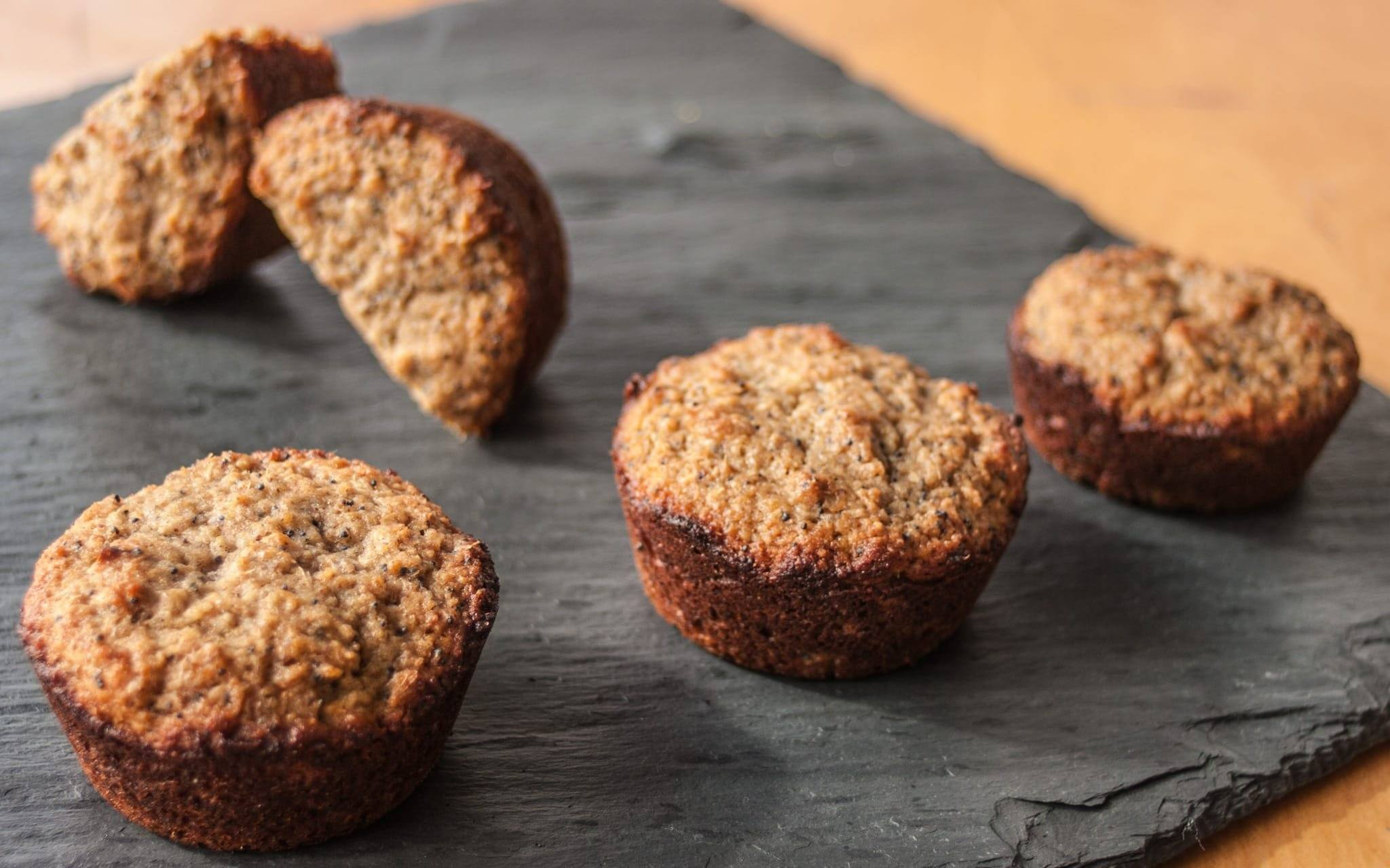 Recipe: Spent Grain Lemon Poppy Seed Muffins