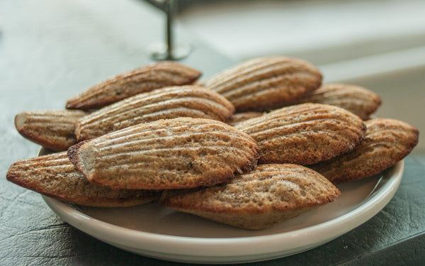 Recipe: Spent Grain Madeleines