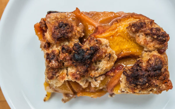 Recipe: Spent Grain Peach Cobbler