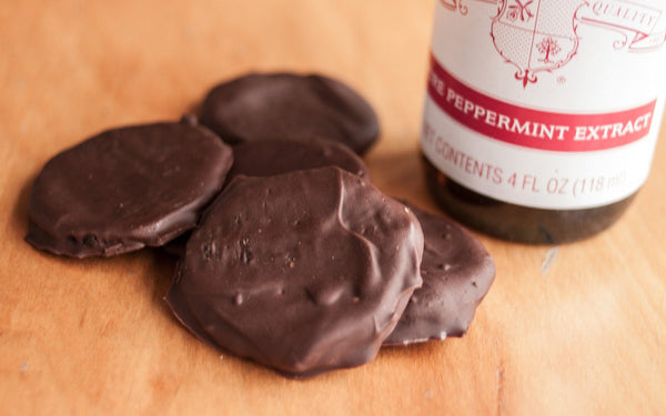 Recipe: Spent Grain Thin Mint Cookies