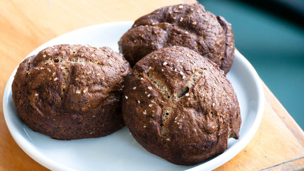 Recipe: Spent Grain Pretzel Rolls