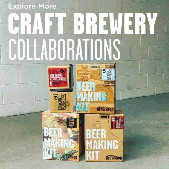 Explore Craft Brewery Collaboration Homebrew Kits