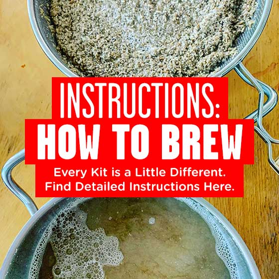 Find your detailed instructions on how to brew here.