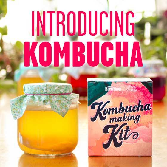 Introducing the new Kombucha Making Kit