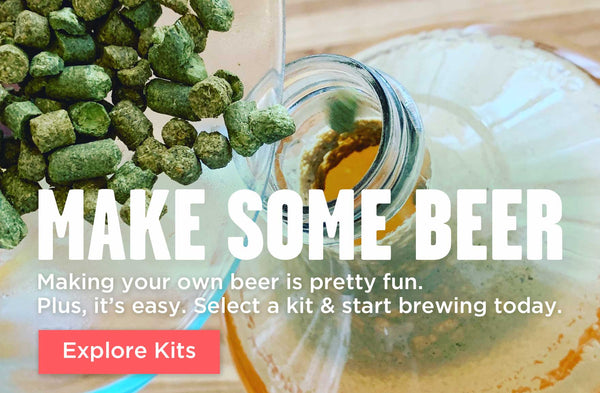 Make Some Beer: Select a Beer Making Kit & Start Brewing Today