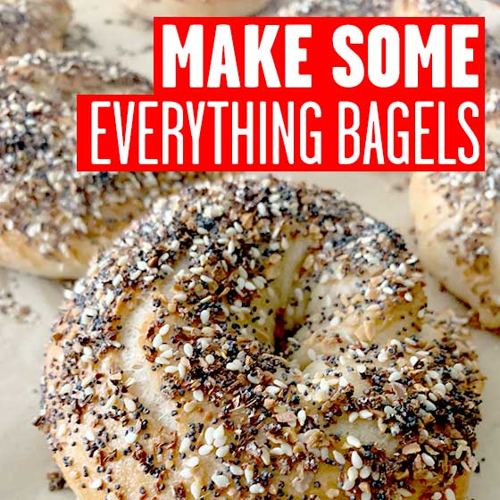 How to Make Everything Bagels from Scratch