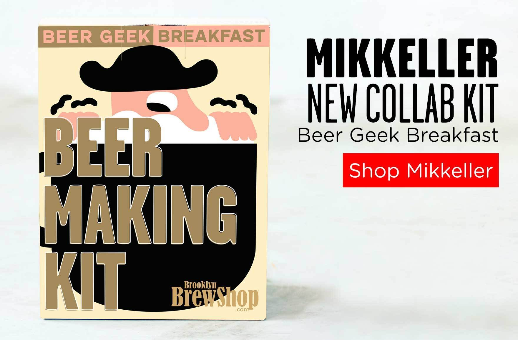 Mikkeller Beer Geek Breakfast Beer Making Kit