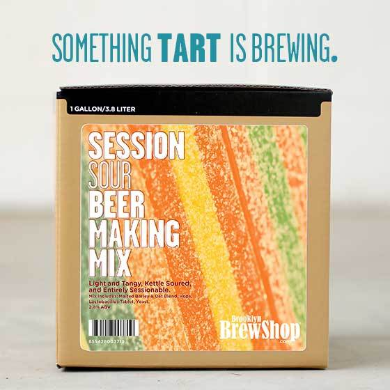 Session Sour Beer Making Mix: Something Tart Is Brewing