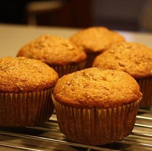 Recipe: Spent Grain Applesauce Muffins