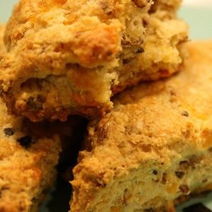 Recipe: Spent Grain Cheddar Scones