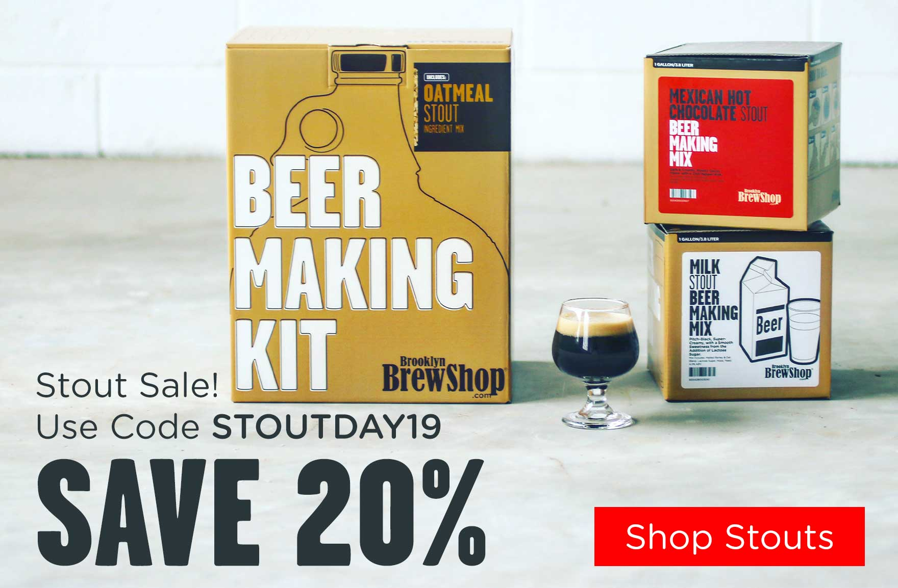 Save 20% On All Dark Beers for International Stout Day