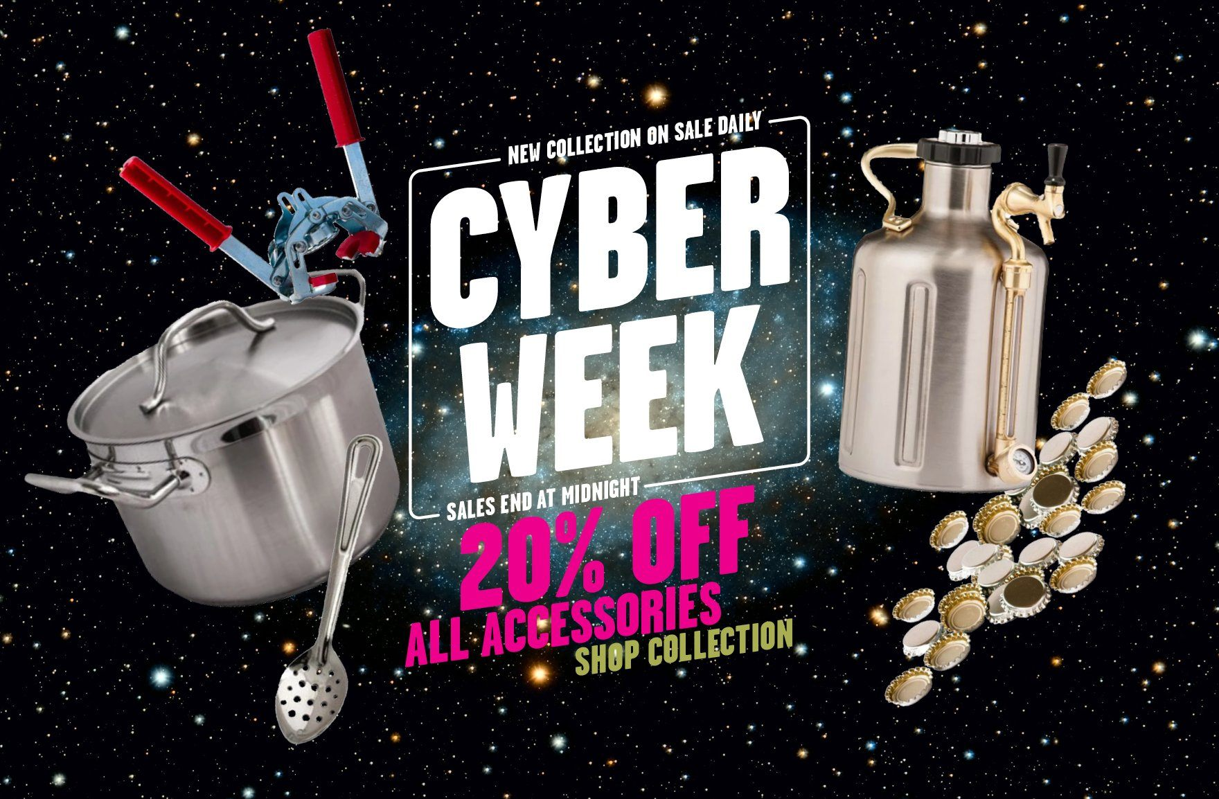 Cyber Week Sale 2019: 20% Off All Brewing Accessories