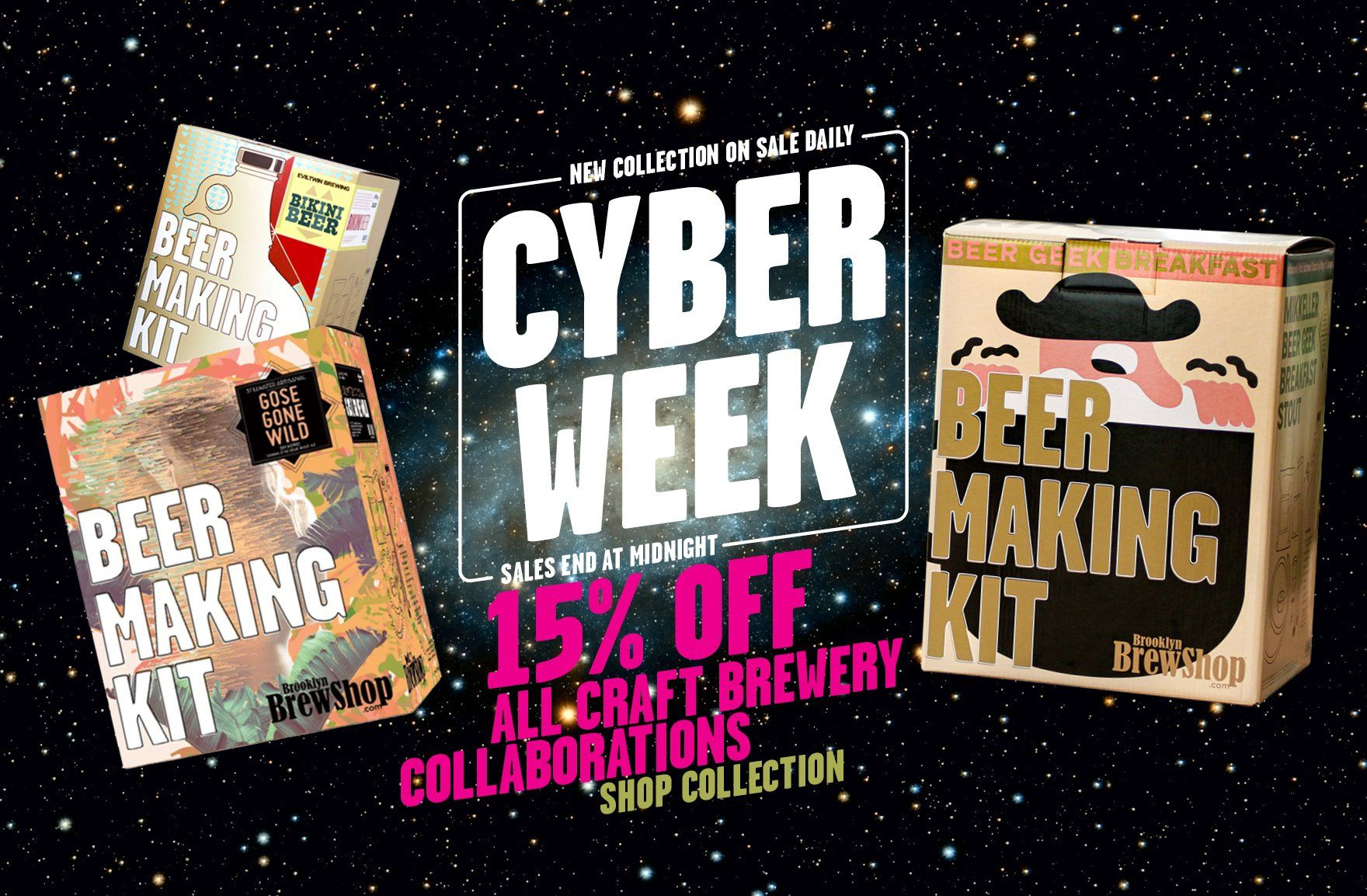Cyber Week Sale 2019: 20% Off All Craft Brewery Collaborations