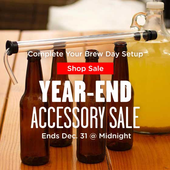 Year End Accessory Sale Ends Soon