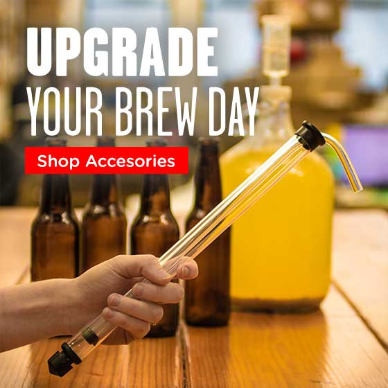Shop Accessories: Upgrade Your Brew Day