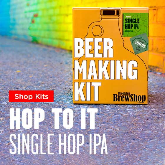 Hop To It...Single Hop IPA Beer Making Kits