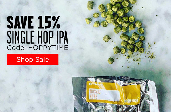 Single Hop IPA Beer Making Kit and Mix Sale