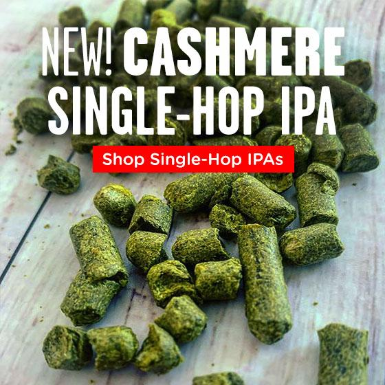 New! Cashmere Single Hop IPA