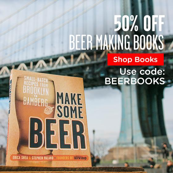 50% Off Beer Making Books