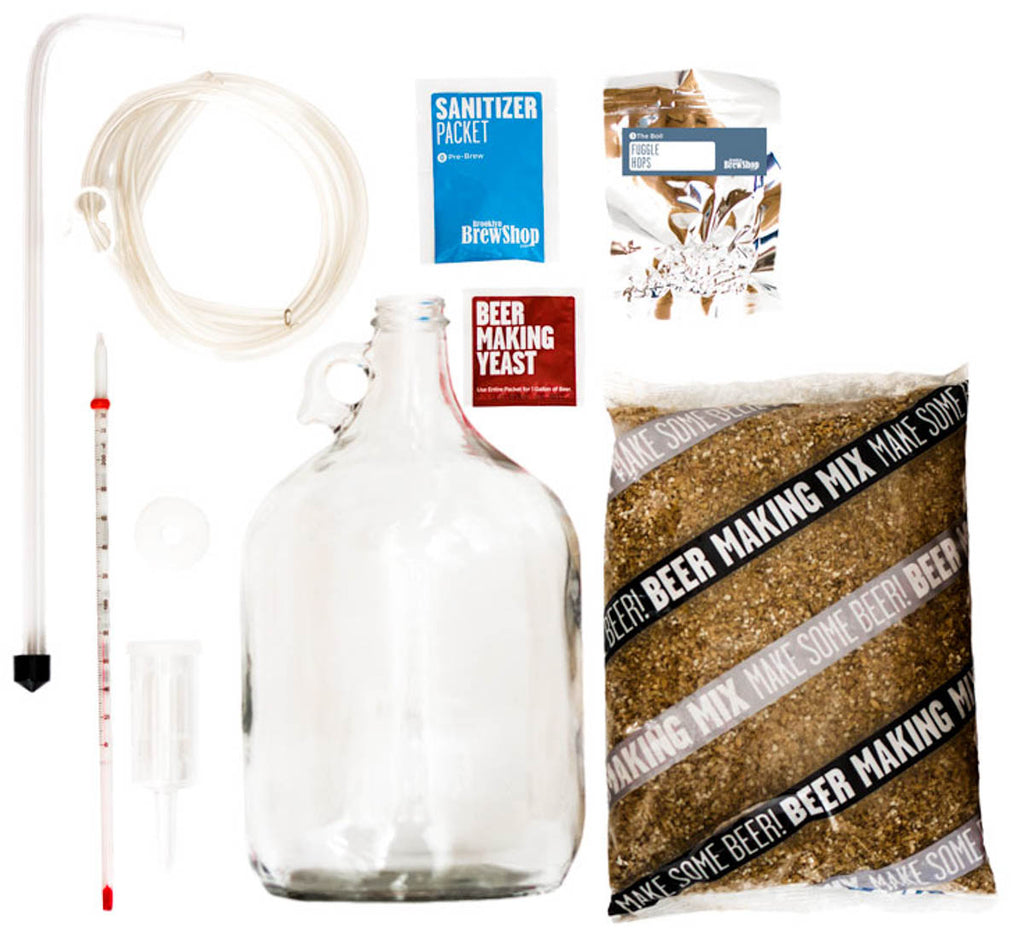 What's Inside Chestnut Brown Ale: Beer Making Kit