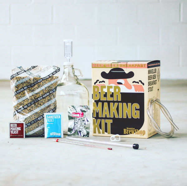What's Inside Mikkeller Beer Geek Breakfast Stout: Beer Making Kit