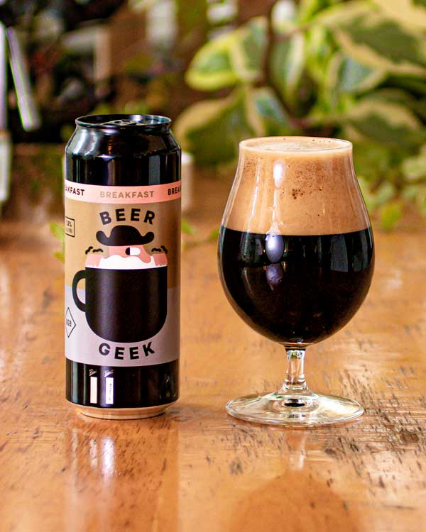 Mikkeller Beer Geek Breakfast Stout: Beer Making Kit Finished Beer