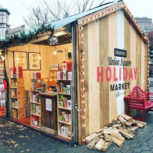 Brooklyn Brew Shop at the Unions Square Holiday Market