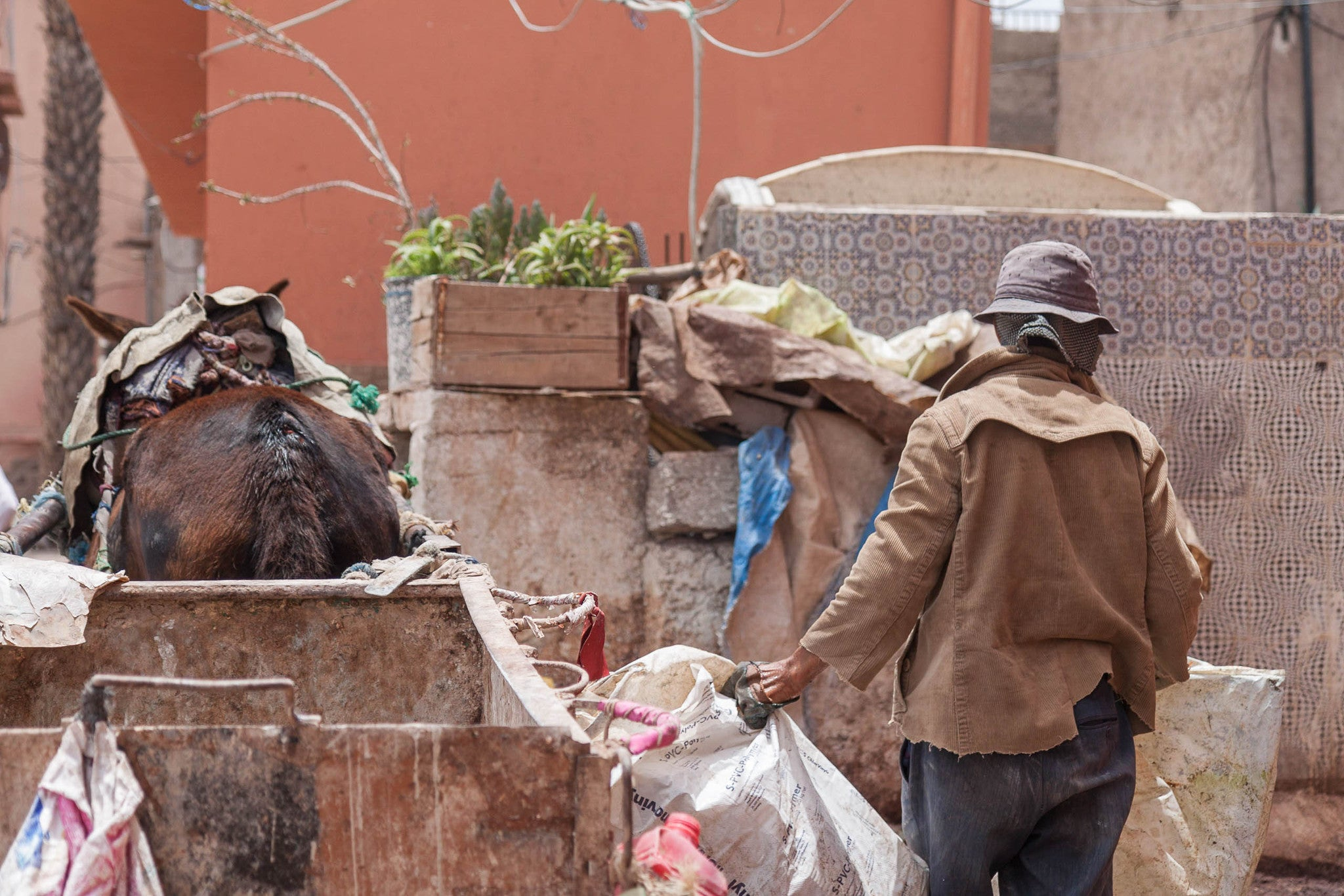 Visiting the Moroccan Tanneries