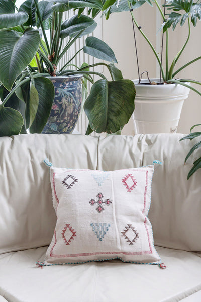 "Cactus Silk ""Sabra"" Pillow (18.5"" x 20"")"