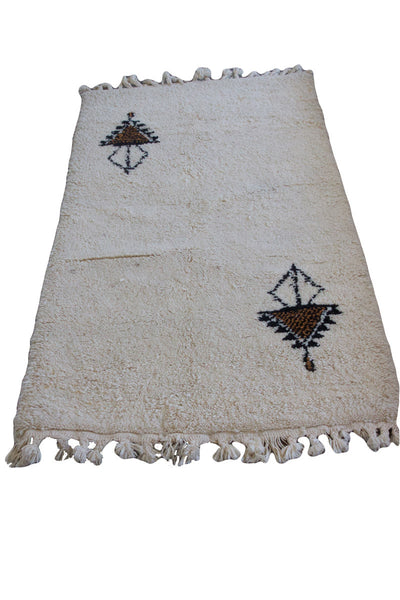 Beni Ourain rug (2.75 x 4.75 ft)