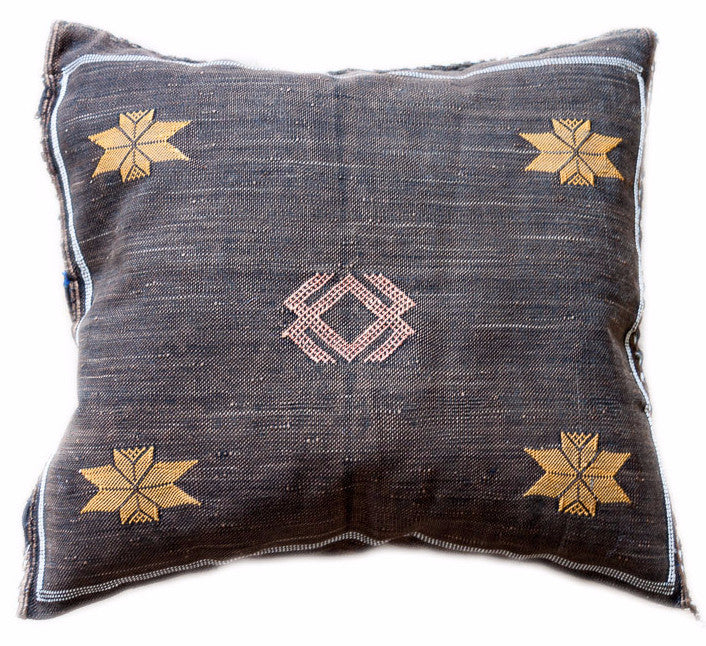 "Cactus Silk ""Sabra"" Pillow (18"" x 19.5"")"