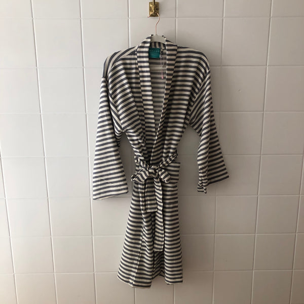 HAMAM BATHROBE GRAY / CREAM