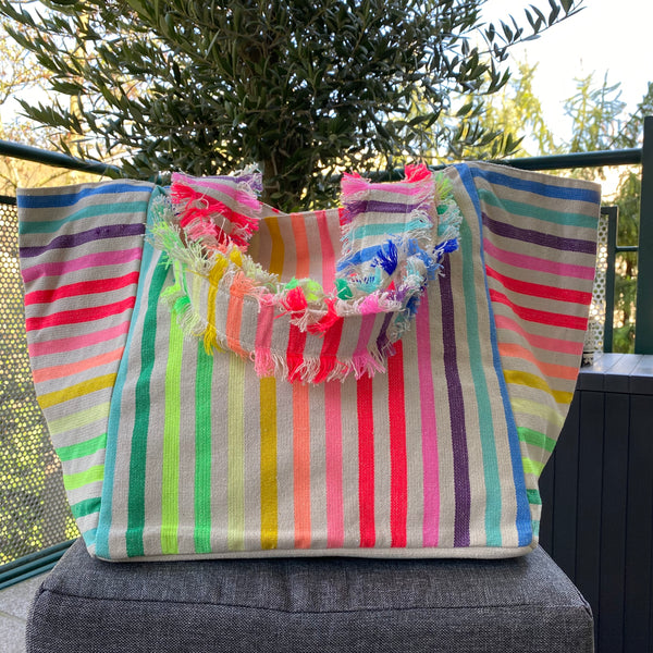 LARGE SHOPPER STRIPES