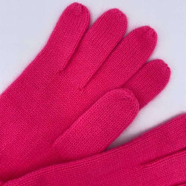KASHMIR GLOVES PINK
