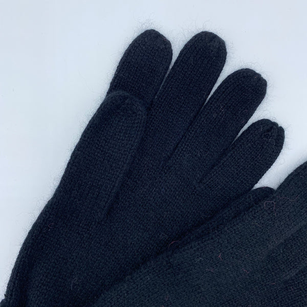 KASHMIR GLOVES BLACK