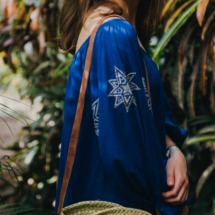"TUNIC ""LILLY"" COBALT BLUE"
