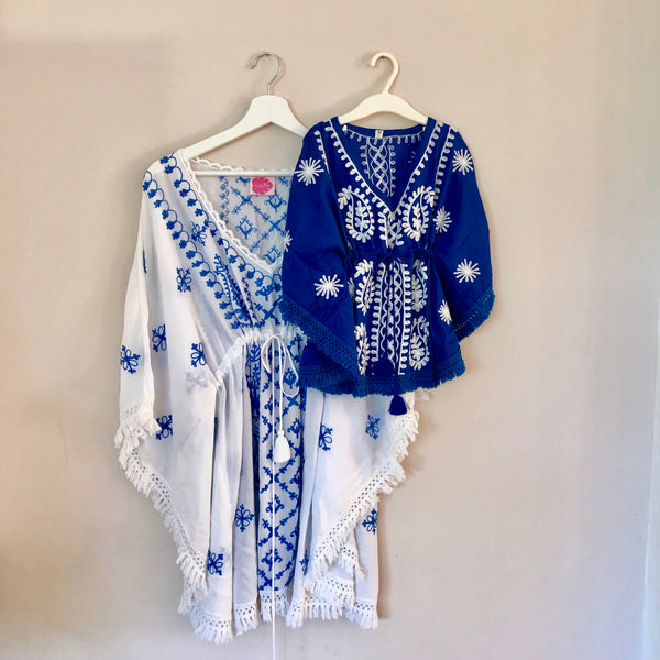 "BLUE  KIDS TUNIC ""OCEAN"""