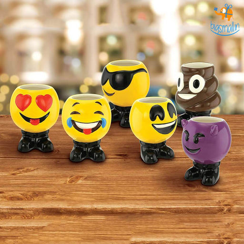 Product Of The Week - Emoji Ceramic Shot Glasses - Set Of 6