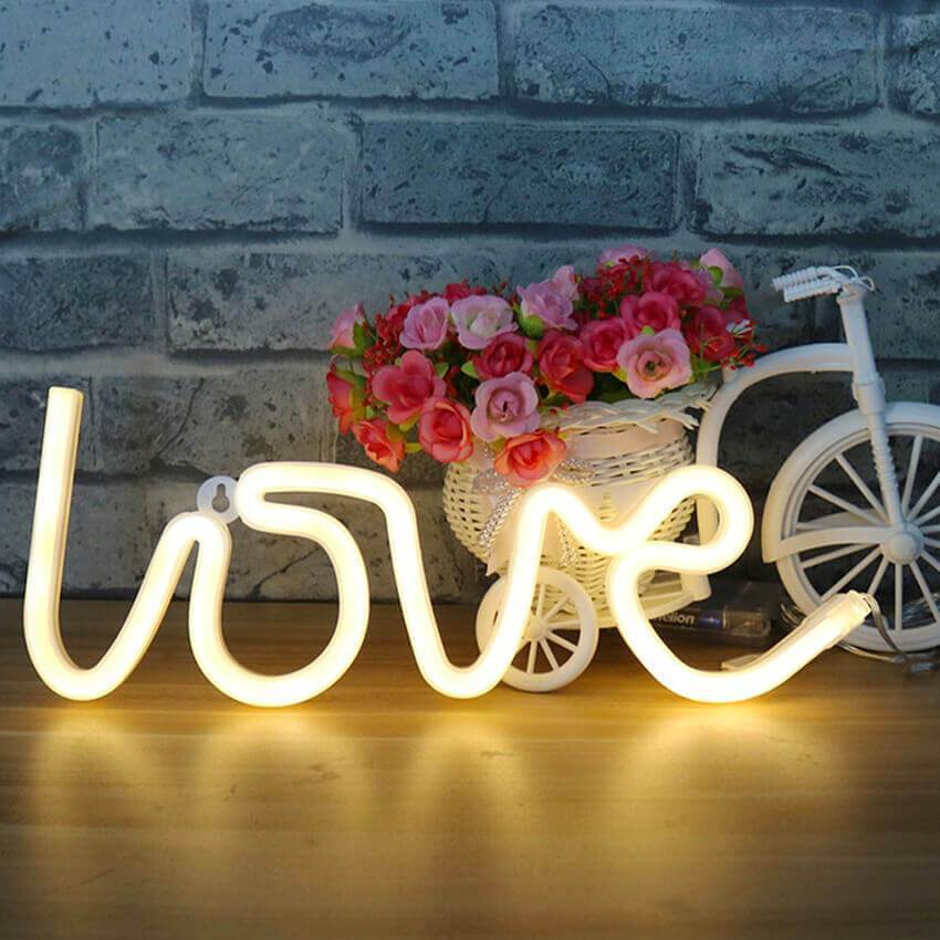 Light up Love this Valentines