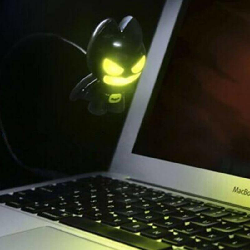 Awake the owl inside you, with the Batman Night Light, this Stay Up All Night Day