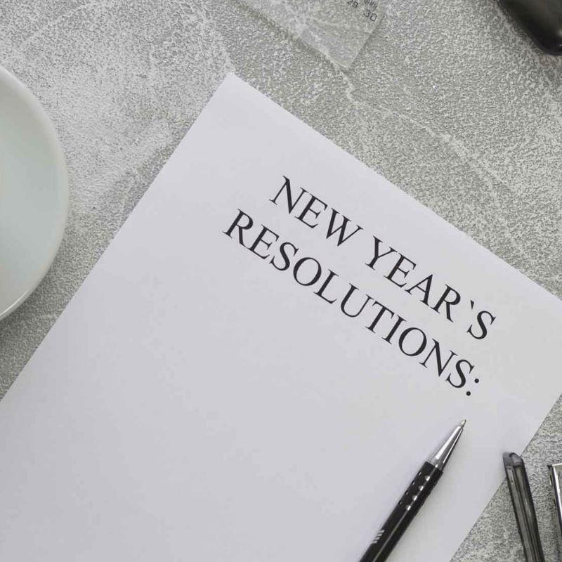 5 New Year Resolutions you can actually follow!