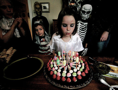 The Thought That A Horror Party Is Only Good For Halloween Not True If You Are Fan Of Movies Then It Can Be Perfect Theme Your Birthday