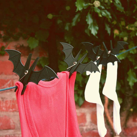 Batman clothes hanging clips