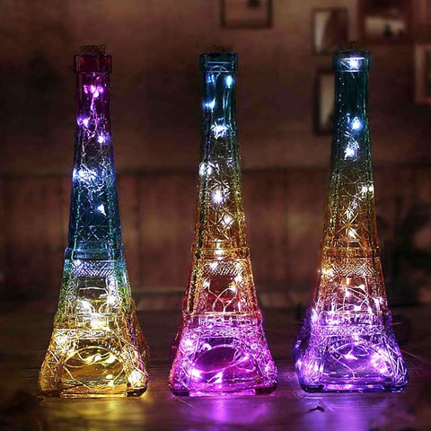 Eiffel Bottle Lamp