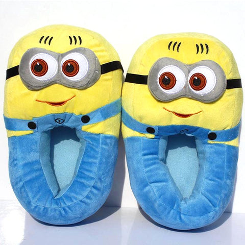 Minion Plush Slippers