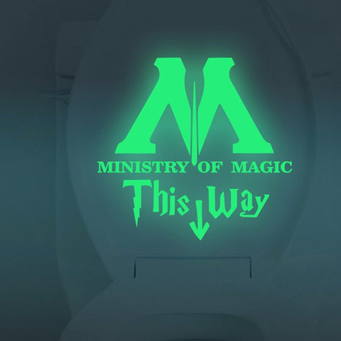 Ministry of Magic Decal
