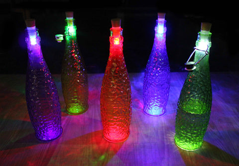 Rechargeable Bottle Cork Light