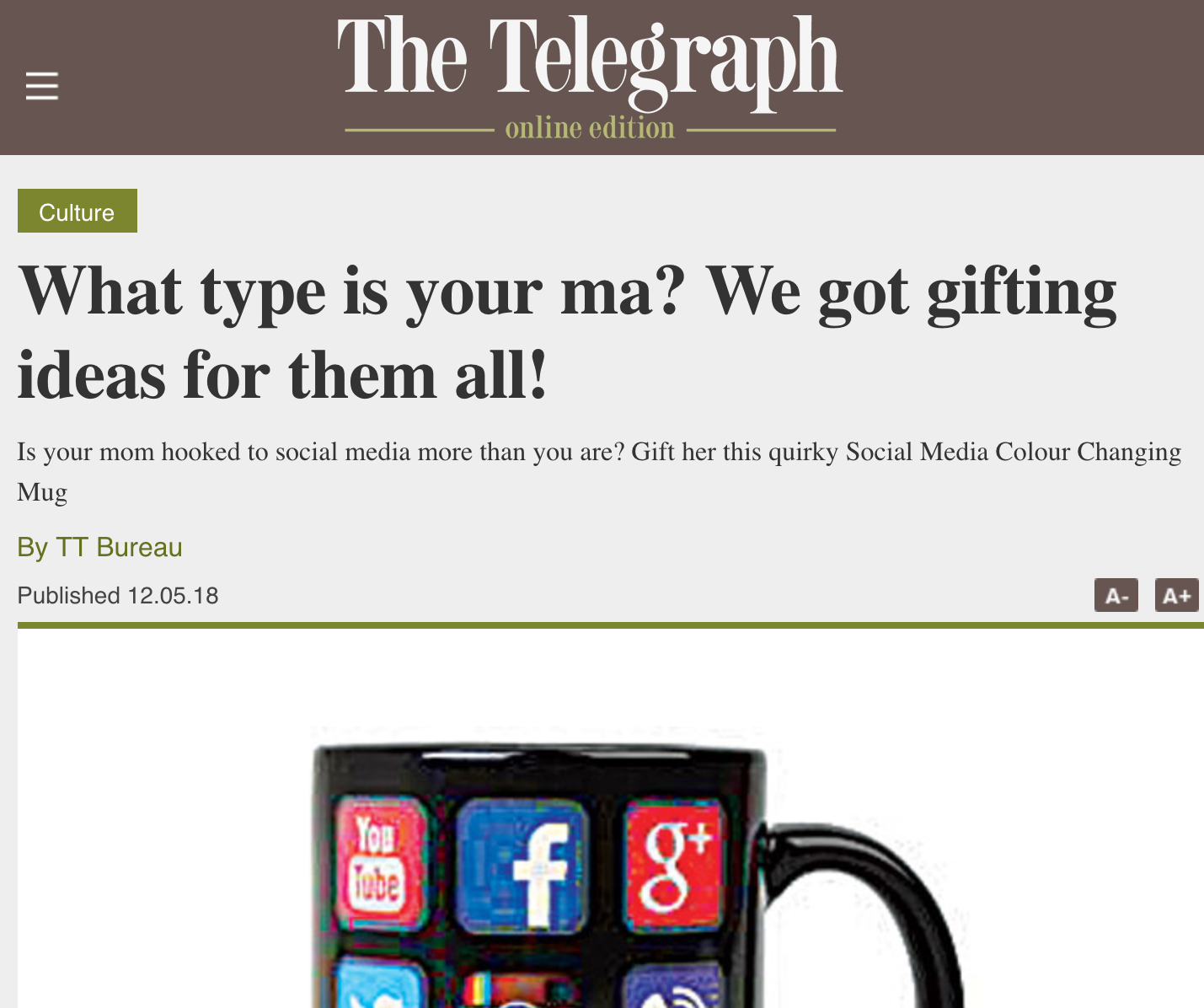 The Telegraph | What type is your ma? We got gifting ideas for them all!
