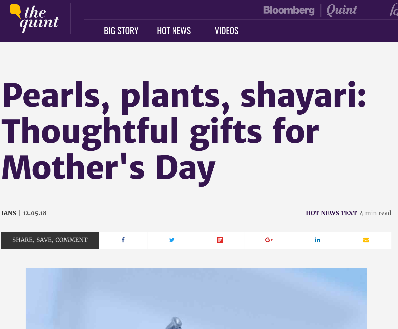 The Quint | Pearls, plants, shayari: Thoughtful gifts for