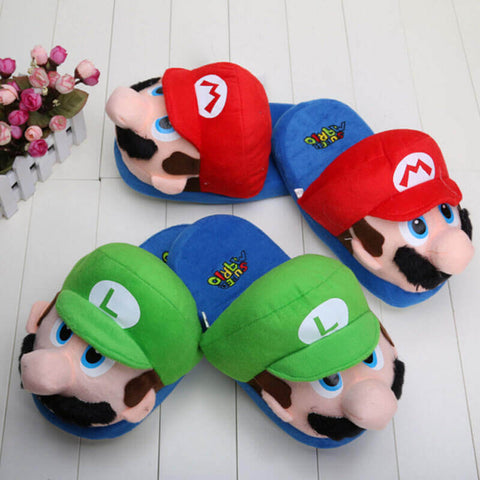 Super Mario Slippers